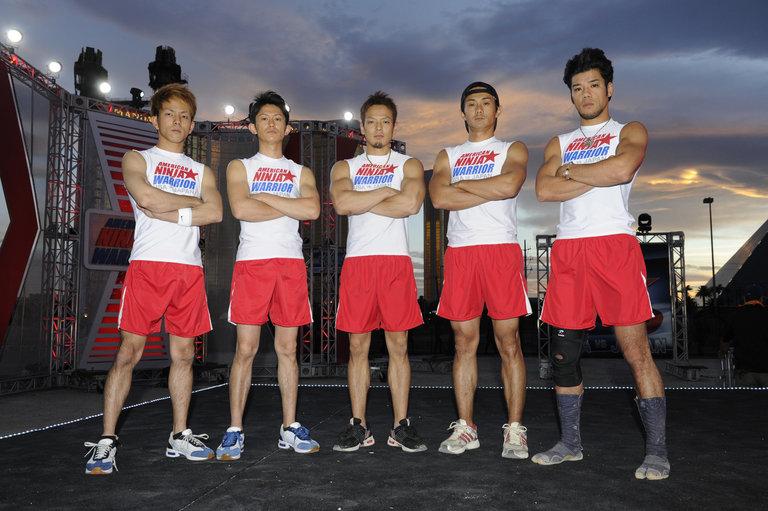 Pictured: TEAM JAPAN (l-r) Ryo Matachi, Yuuji Urushihara, Hitoshi Kanno, Shingo Yamamoto, Kazuma Asa -- (Photo by: David Becker/Esquire Network/NBCU Photo Bank)