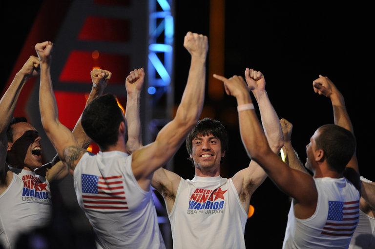 Pictured: TEAM USA (l-r) Travis Rosen, James McGrath, Paul Kasemir, Brent Steffensen -- (Photo by: David Becker/Esquire Network/NBCU Photo Bank)