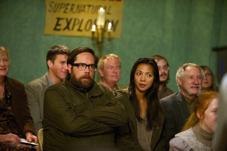 Pictured:  (l-r) Zak Orth as Aaron Pittman, Maureen Sebastian as Priscilla Pittman -- (Photo by: Felicia Graham/NBC/NBCU Photo Bank)