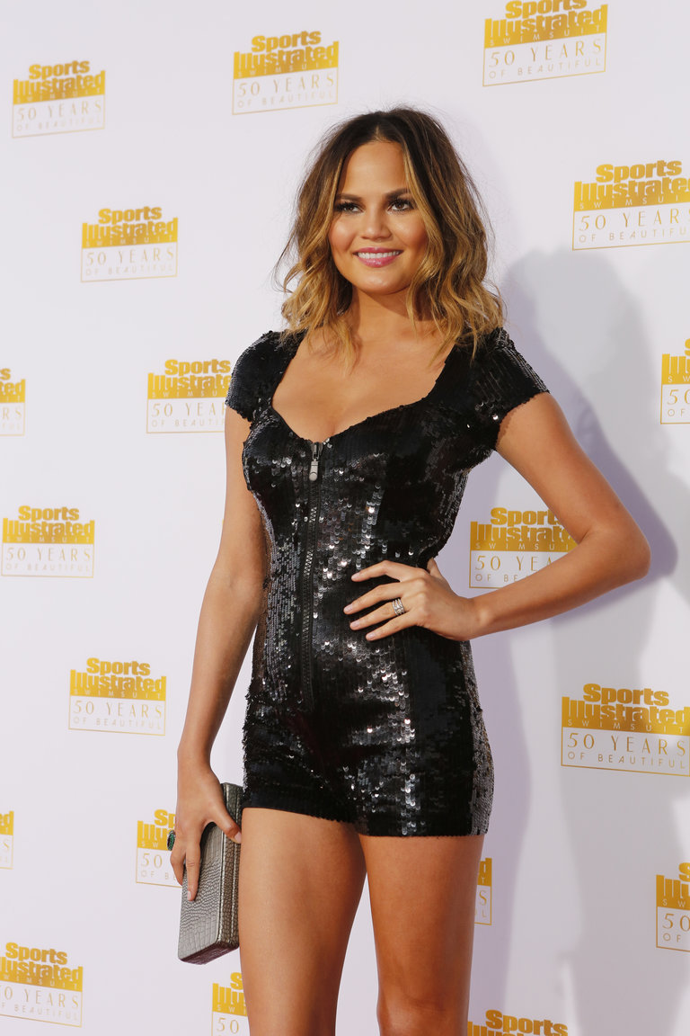 Pictured: Chrissy Teigen -- (Photo by: Vivian Zink/NBC/NBCU Photo Bank)