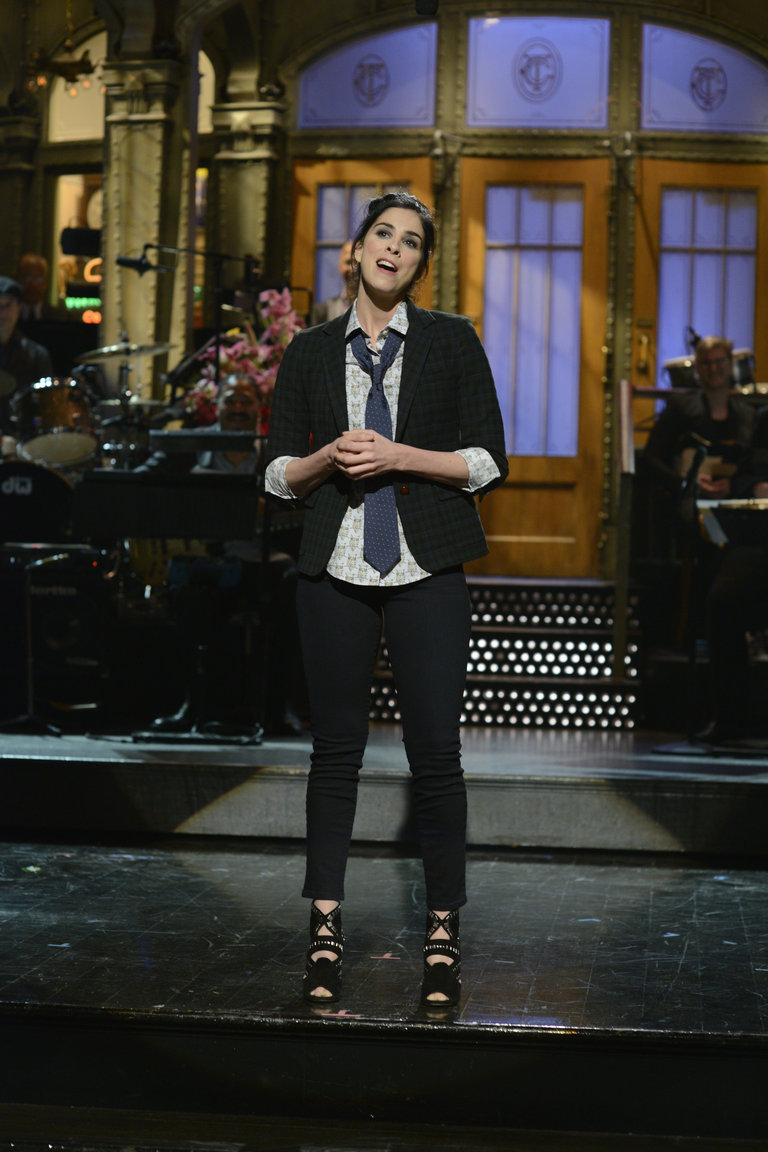 From the set of Saturday Night Live.
