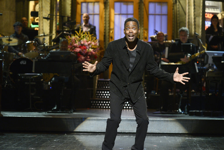 From the Set: Chris Rock