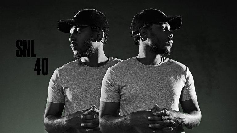 Woody Harrelson and Kendrick Lamar