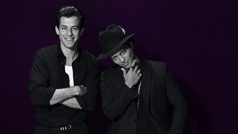 Cameron Diaz and Mark Ronson with Bruno Mars Bumper Photos