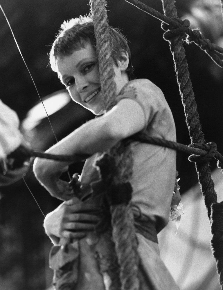 Mia Farrow as Peter Pan