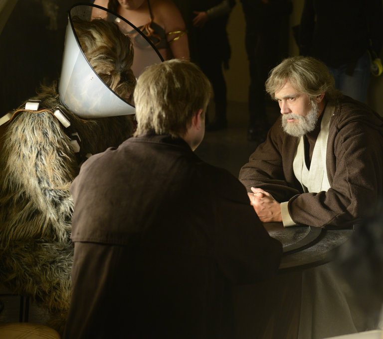 From the Set: Star Wars Teaser