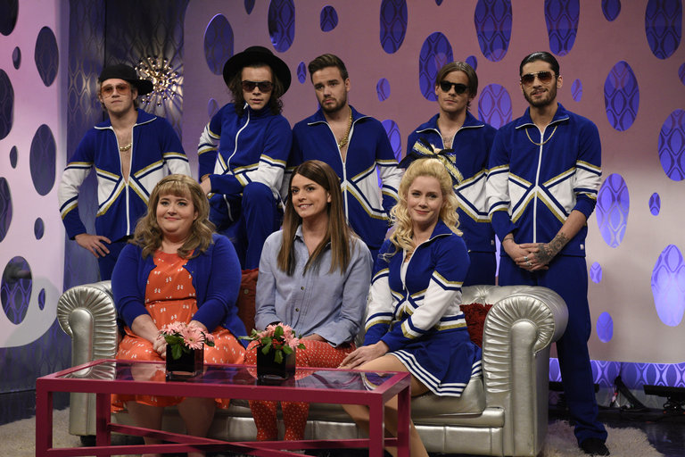 From the Set: Amy Adams and One Direction