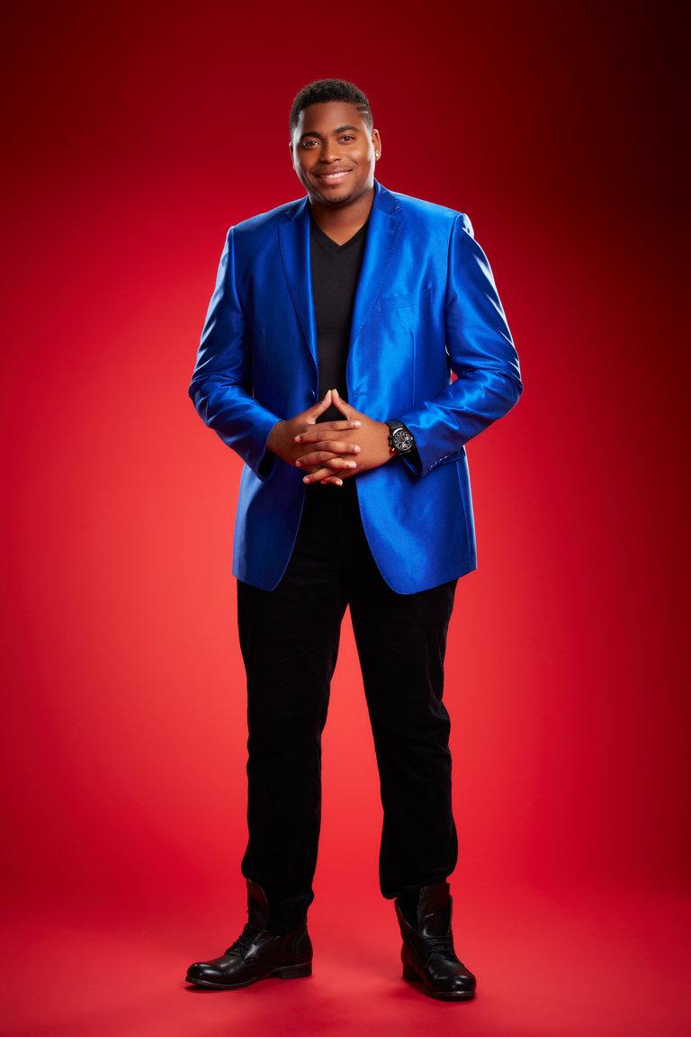 "THE VOICE -- Season: 6 -- Pictured: Trijean Wilkins as ""T.J. Wilkins"" -- (Photo by: Paul Drinkwater/NBC)"