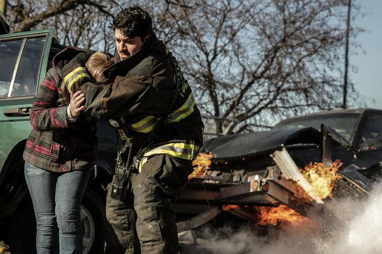 "CHICAGO FIRE -- ""Virgin Skin"" Episode 214 -- Pictured: -- (Photo by: Elizabeth Morris/NBC)"