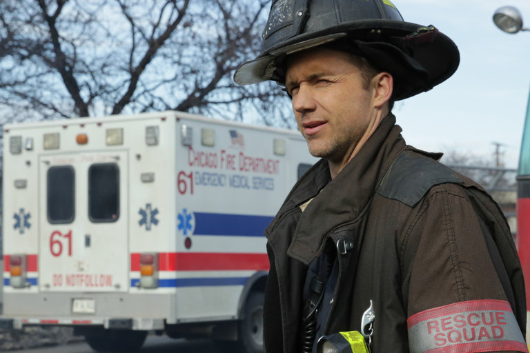 "CHICAGO FIRE -- ""Virgin Skin"" Episode 214 -- Pictured: Jeff Hephner as Clarke -- (Photo by: Elizabeth Morris/NBC)"