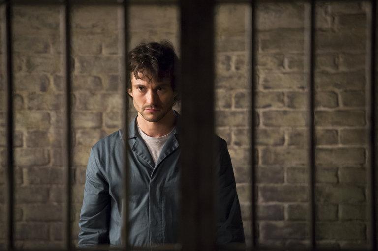 "HANNIBAL -- ""Kaiseki"" Episode 201 -- Pictured: Hugh Dancy as Will Graham -- (Photo by: Brooke Palmer/NBC/NBCU Photo Bank)"