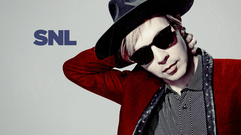 Jim Parsons hosts Saturday Night Live with musical guest Beck on March 1, 2014