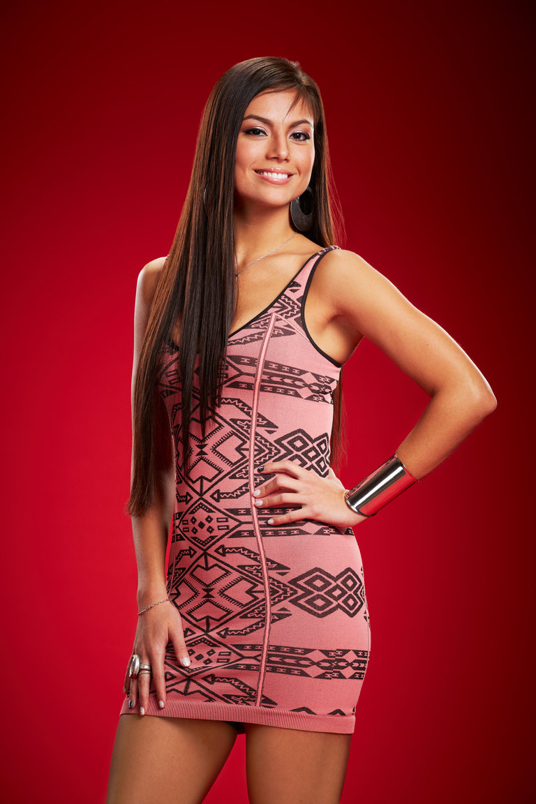 THE VOICE -- Season: 6 -- Pictured: Melissa Jimenez -- (Photo by: Paul Drinkwater/NBC)