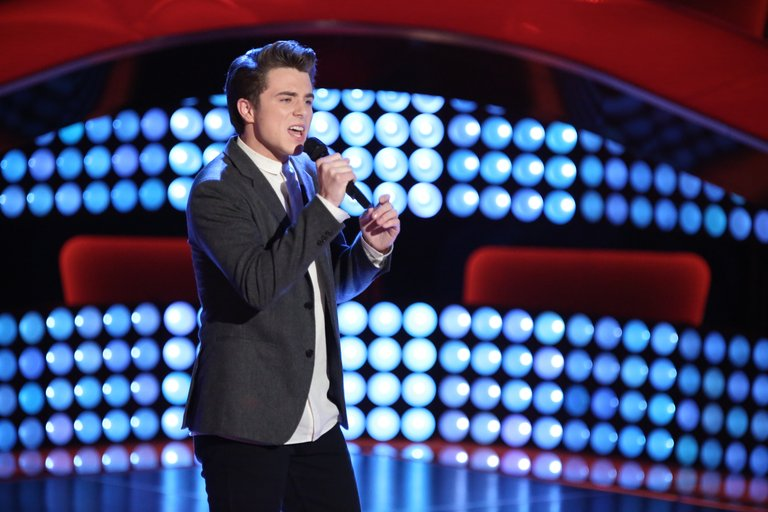 "THE VOICE -- ""Blind Auditions"" -- Pictured: (l-r) -- (Photo by: Tyler Golden/NBC)"