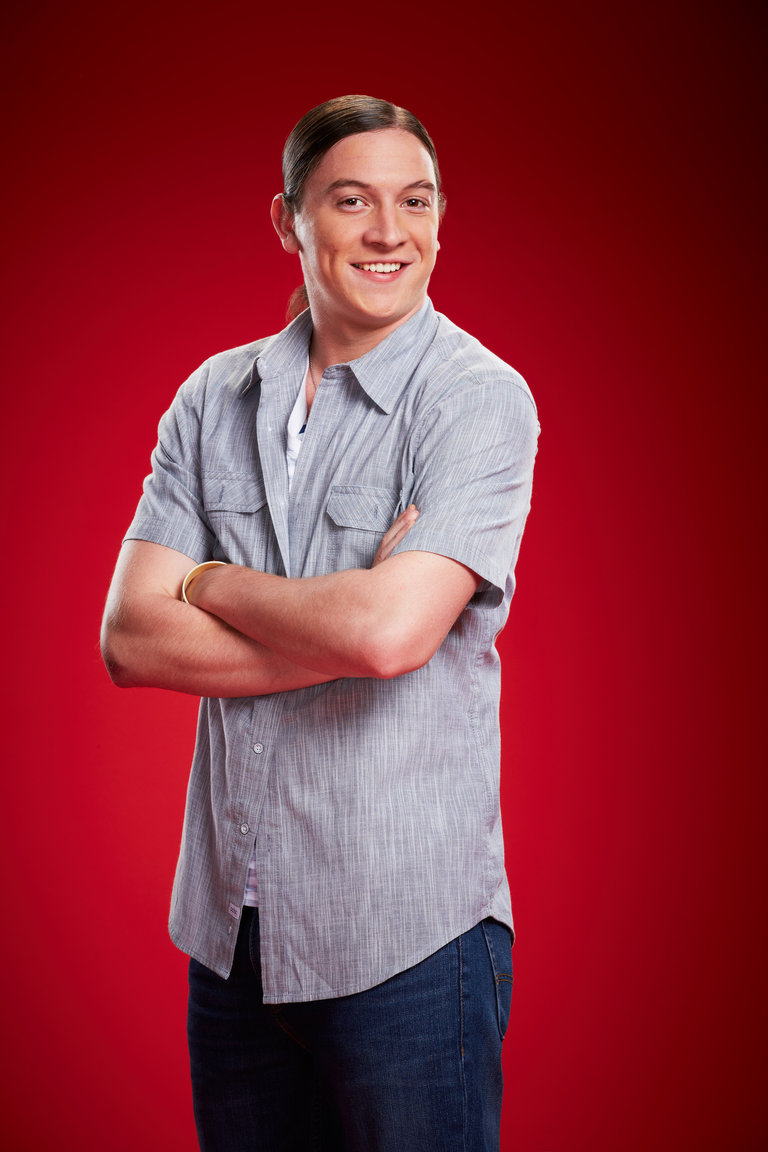 "THE VOICE -- Season: 6 -- Pictured: Steven Rosenbalm as ""Stevie Joe"" -- (Photo by: Paul Drinkwater/NBC).(FSR:AA)"