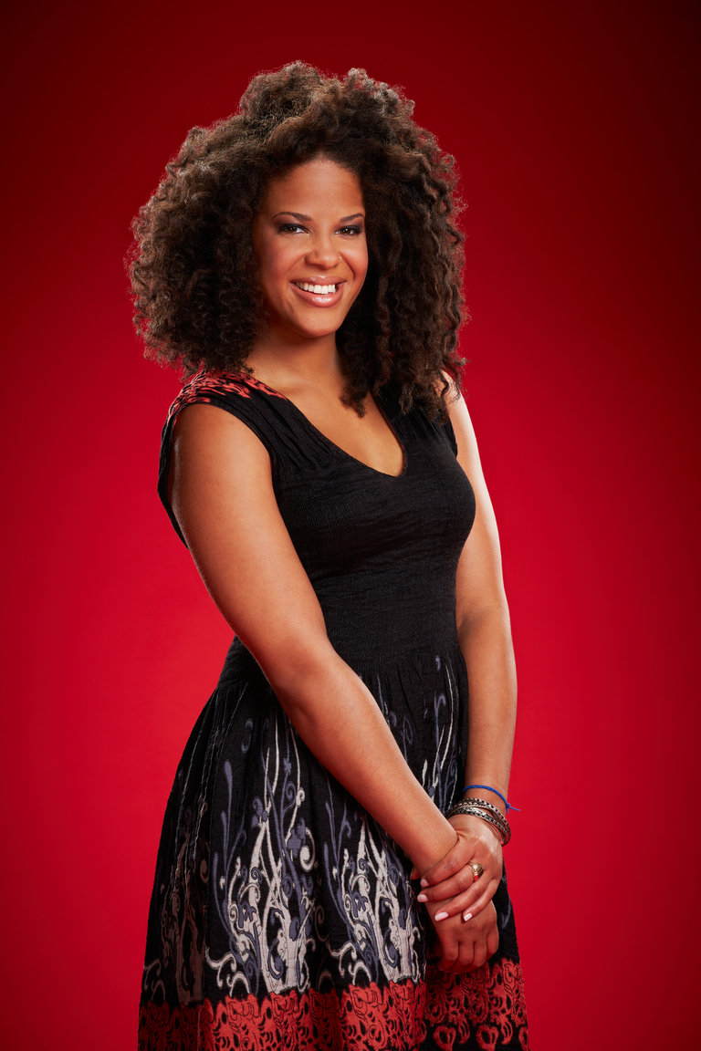 "THE VOICE -- Season: 6 -- Pictured: Ayesha Brooks as ""Musicbox"" -- (Photo by: Paul Drinkwater/NBC)"