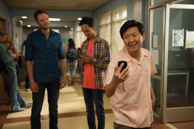 "COMMUNITY -- ""App Development and Condiments"" Episode 508 -- Pictured: (l-r)  -- (Photo by: Colleen Hayes/NBC)"