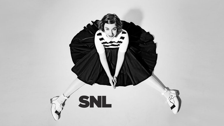 Lena Dunham hosts Saturday Night Live with musical guest The National on March 8, 2014.