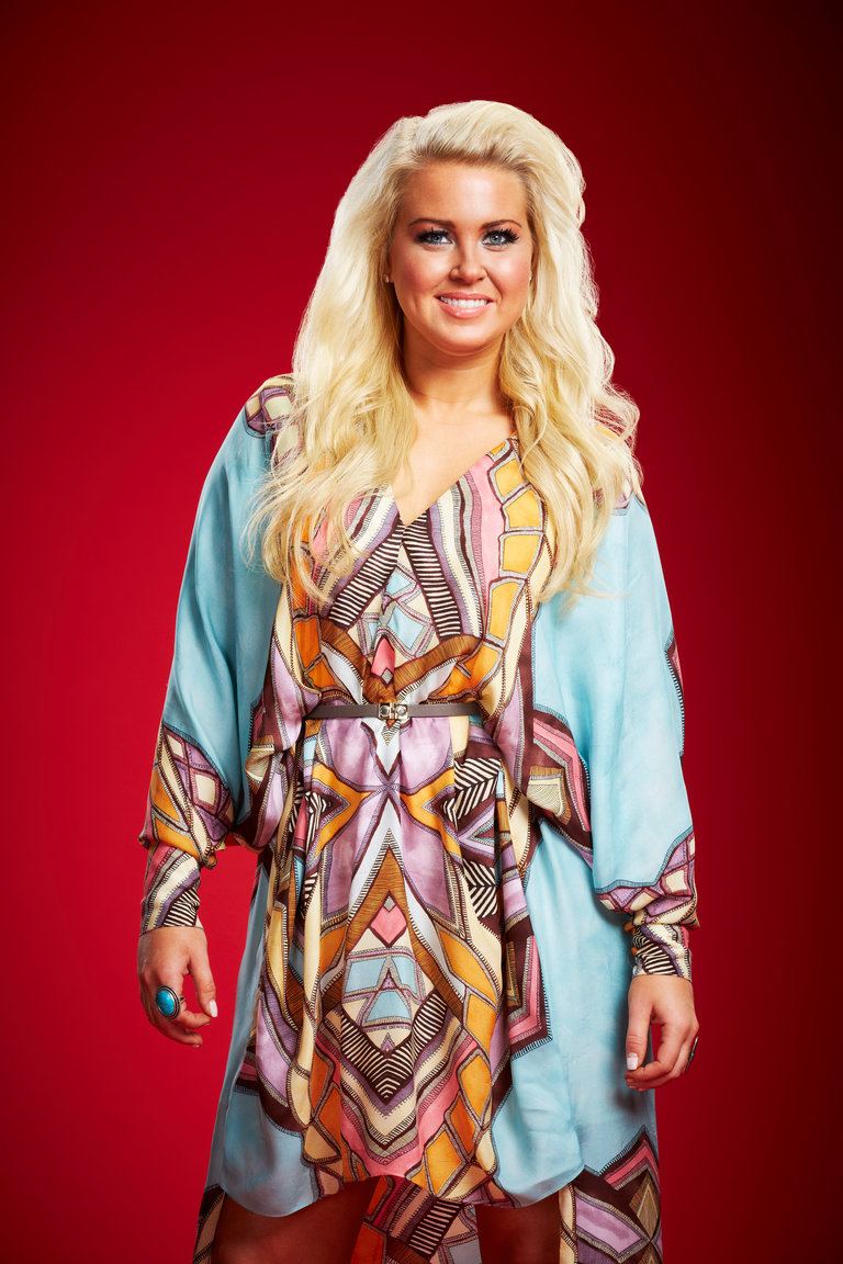 THE VOICE -- Season: 6 -- Pictured: Cali Tucker -- (Photo by: Paul Drinkwater/NBC)