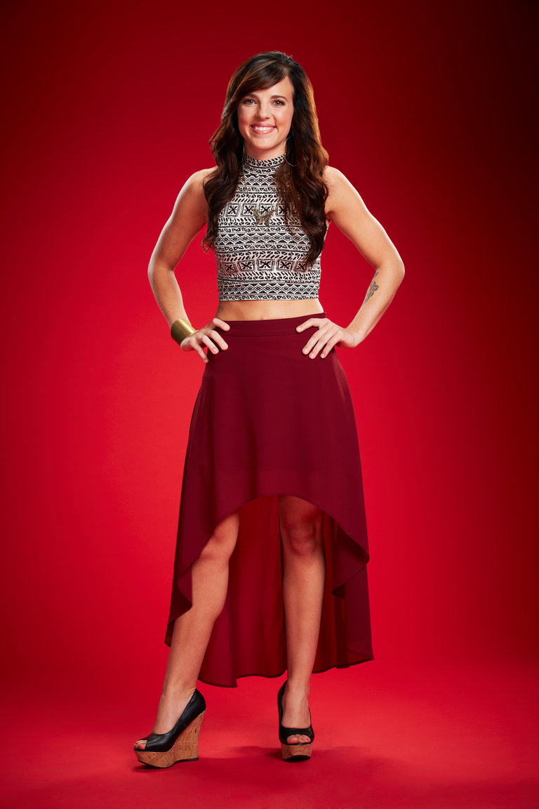 THE VOICE -- Season: 6 -- Pictured: Kaleigh Glanton -- (Photo by: Paul Drinkwater/NBC)