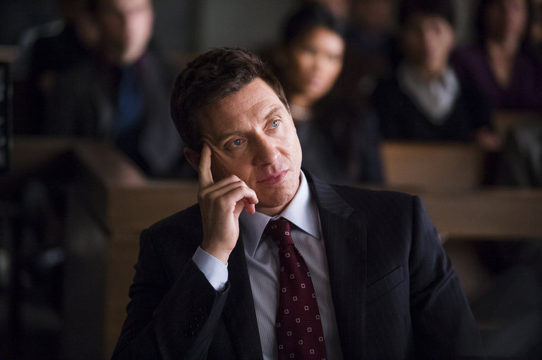 """HANNIBAL -- """"Hassun"""" Episode 203 -- Pictured: Shawn Doyle as Leonard Brauer -- (Photo by: Brooke Palmer/NBC)"""