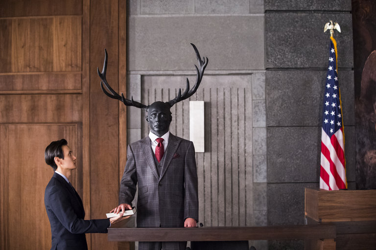 "HANNIBAL -- ""Hassun"" Episode 203 -- Pictured: -- (Photo by: Brooke Palmer/NBC)"