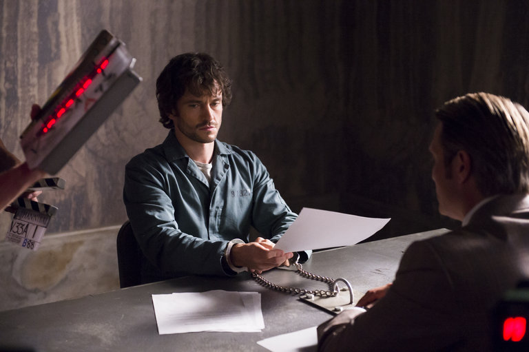 "HANNIBAL -- ""Hassun"" Episode 203 -- Pictured: (l-r)  -- (Photo by: Brooke Palmer/NBC)"