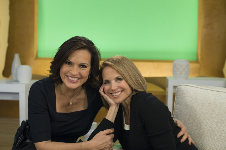 Katie Couric plays a TV journalist who interviews Jimmy MacArthur on a morning show.