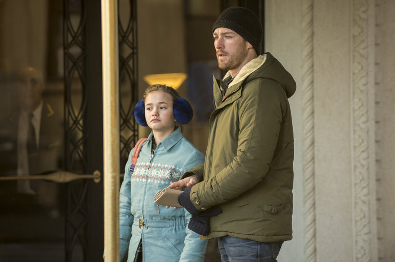 Pictured: (l-r) Johnny Sequoyah as Bo, Jake McLaughlin as Tate -- (Photo by: David Giesbrecht/NBC)