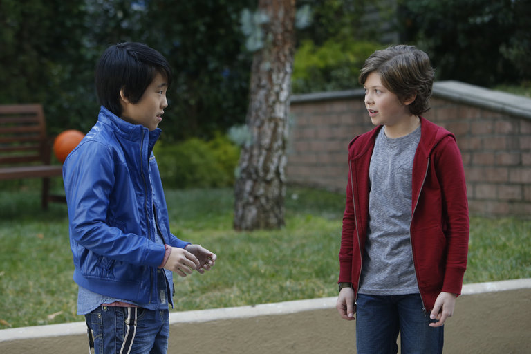 Pictured: (l-r) Lance Lim as Runyen, Eli Baker as Henry -- (Photo by: Jordin Althaus/NBC)