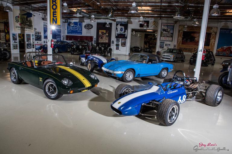 Jay leno 39 s garage 1966 lotus elan photo 1651991 for Garage lotus