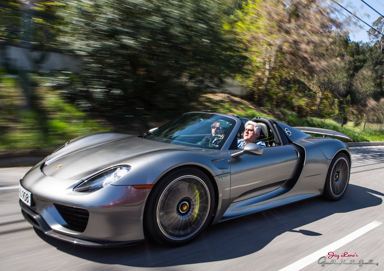 Jay takes a looks at the new Porsche 918