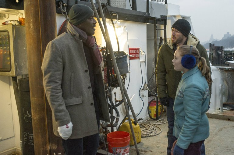 Pictured: (l-r) Delroy Lindo as Winter, Jake McLaughlin as Tate, Johnny Sequoyah as Bo -- (Photo by: David Giesbrecht/NBC)