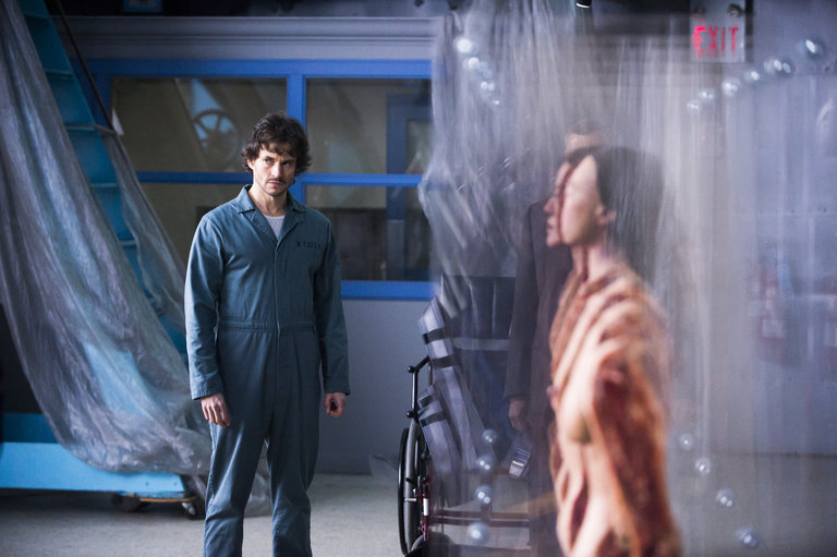 "HANNIBAL -- ""Mukozuke"" Episode 205 -- Pictured: Hugh Dancy as Will Graham -- (Photo by: Brooke Palmer/NBC)"