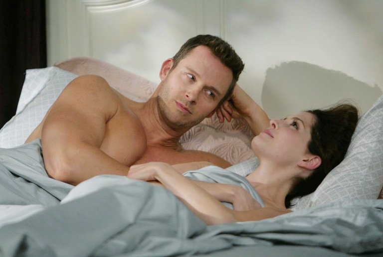 Theresa and Brady get caught in a compromising position.