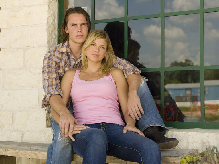 "In 2006, Palicki joined the cast of NBC's critically acclaimed ""Friday Night Lights"" playing Tyra Collette, the on-again-off-again girlfriend of Tim Riggins, played by Tyler Kitsch."