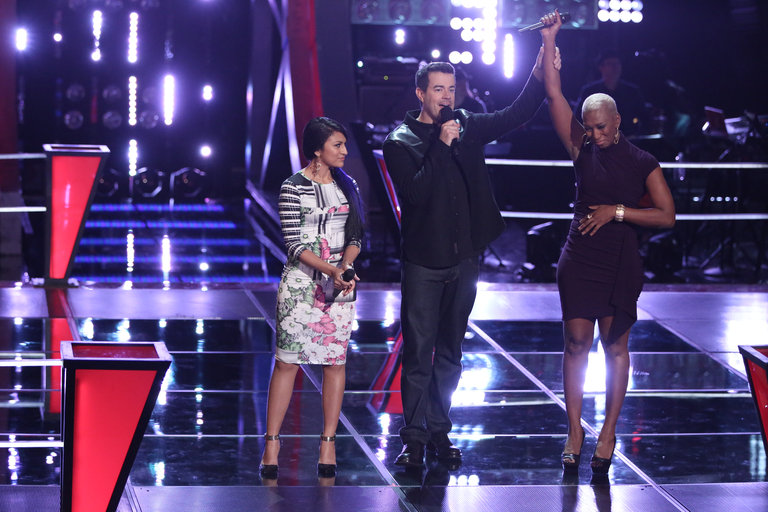 "THE VOICE -- ""Battle Rounds"" -- Pictured: (l-r)  -- (Photo by: Tyler Golden/NBC)"