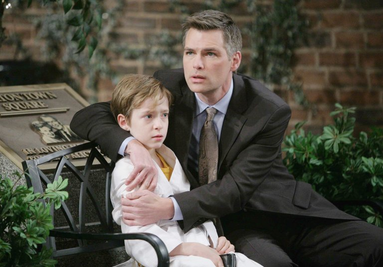 Aiden is grateful when Hope rescues Chase from a scary situation.