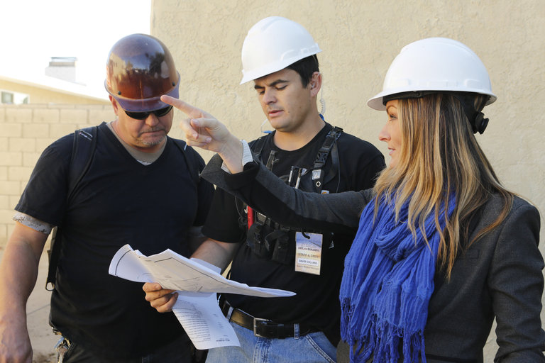 AMERICAN DREAM BUILDERS -- Episode 103 -- Pictured: (l-r)  -- (Photo by: Vivian Zink/NBC)