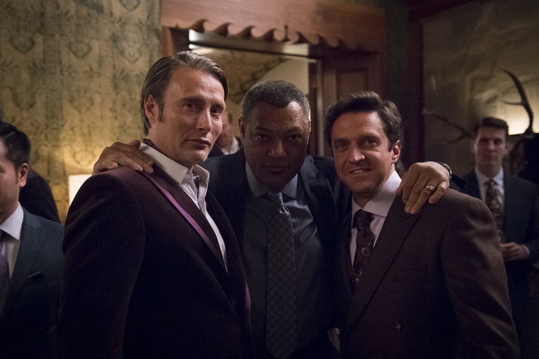 "HANNIBAL -- ""Futamono"" Episode 206 -- Pictured: (l-r)  -- (Photo by: Brooke Palmer/NBC)"