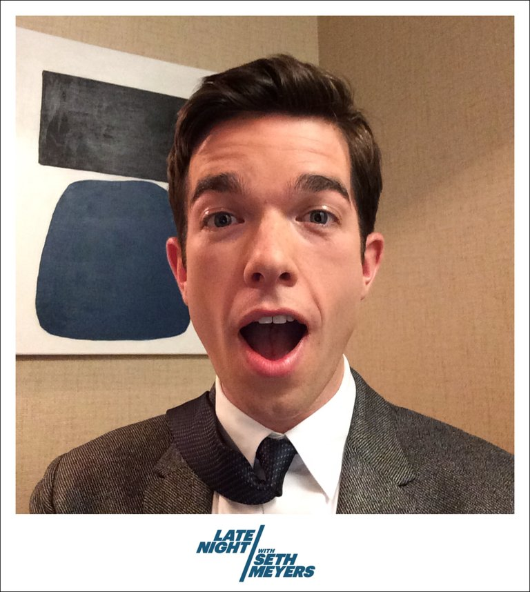 John Mulaney Backstage Photo Late Night with Seth Meyers
