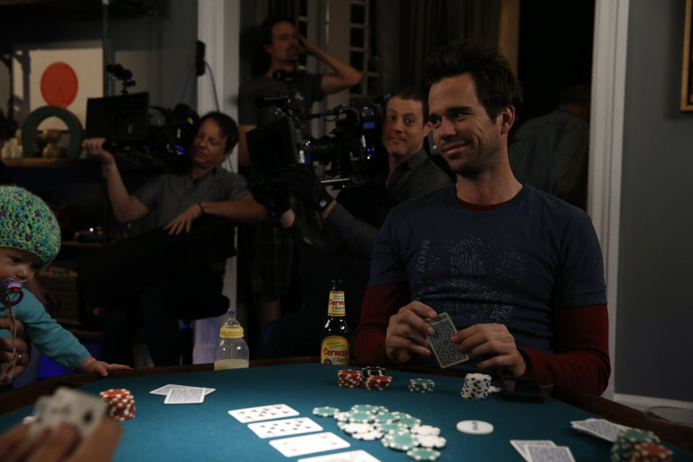 """ABOUT A BOY -- """"About a Poker Night"""" Episode 107 -- Pictured: -- (Photo by: Jordin Althaus/NBC)"""