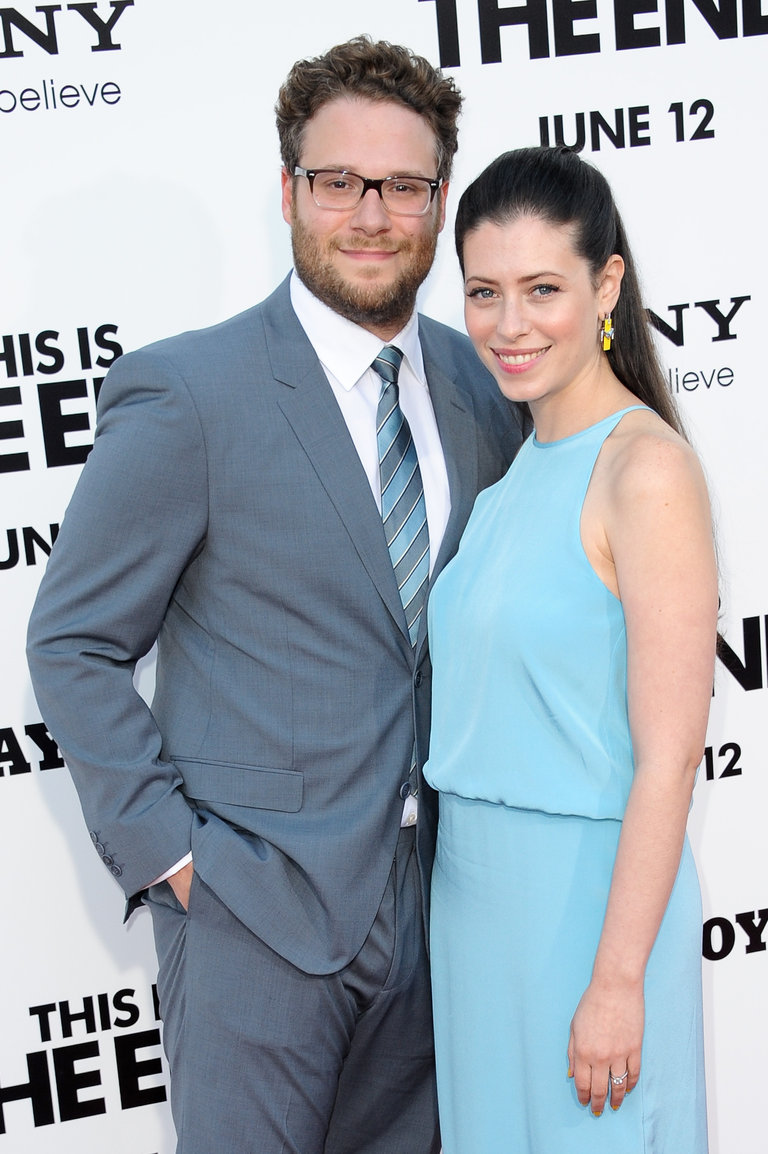 Rogen is married to fellow screenwriter Lauren Miller.
