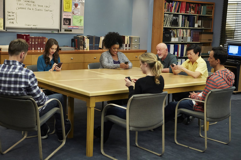 "COMMUNITY -- ""Basic Story"" -- (Photo by: Ben Cohen/NBC)"