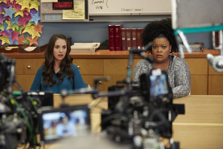 "COMMUNITY -- ""Basic Story"" Episode 512 -- Pictured: -- (Photo by: Ben Cohen/NBC)"