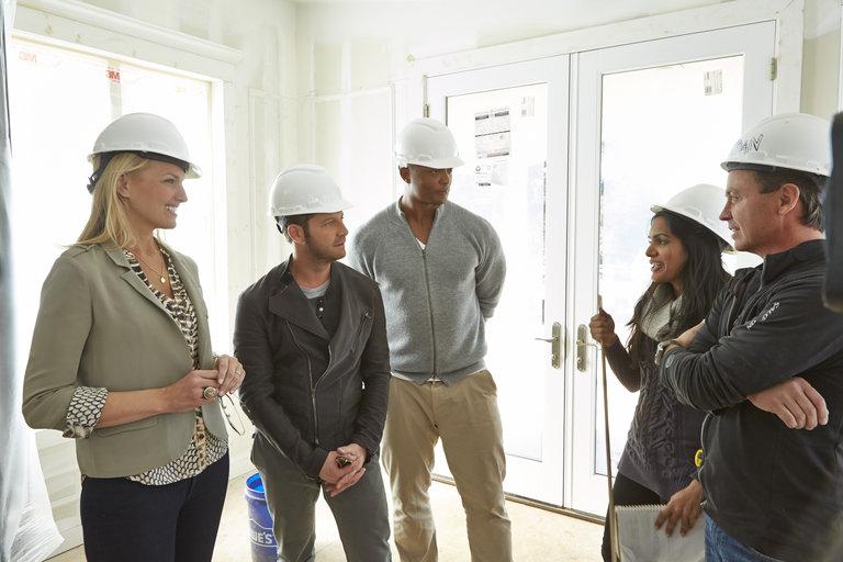 AMERICAN DREAM BUILDERS -- Episode 105 -- Pictured: (l-r)  -- (Photo by: Ben Cohen/NBC)