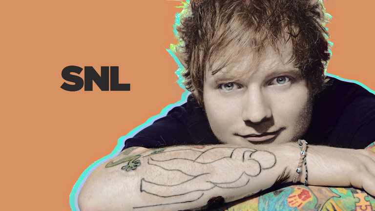 Ed Sheeran performs on Saturday Night Live on April 12, 2014.