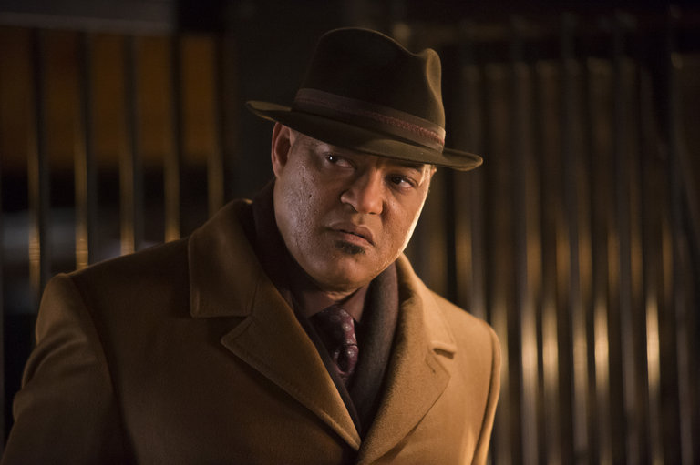 "HANNIBAL -- ""Su-zakana"" Episode 208 -- Pictured: Laurence Fishburne as Jack Crawford -- (Photo by: Brooke Palmer/NBC)"