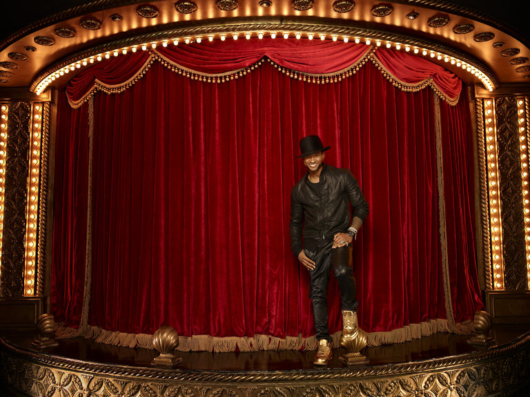 THE VOICE -- Season: 6 -- Pictured: Usher -- (Photo by: Matthew Rolston/NBC)