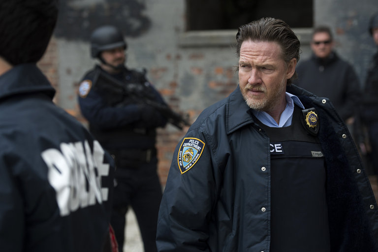 "LAW & ORDER: SPECIAL VICTIMS UNIT -- ""Post-Mortem Blues"" Episode 1521 -- Pictured: Donal Logue as Lt. Declan Murphy -- (Photo by: Micahel Parmelee/NBC)"